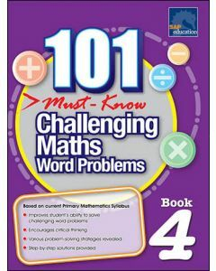 101 Must Know Challenging Maths Word Problems 4