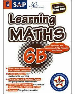 Learning Maths 6B