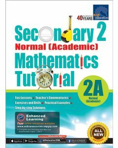 Secondary 2 Normal (Academic) Mathematics Tutorial 2A