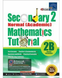 Secondary 2 Normal (Academic) Mathematics Tutorial 2B