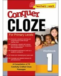 Conquer Cloze Workbook 1