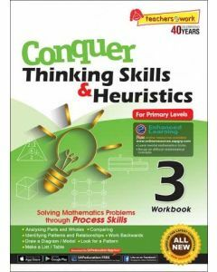 Conquer Thinking Skills & Heuristics Workbook 3