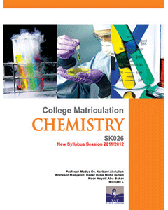 College Matriculation Chemistry Semester 2