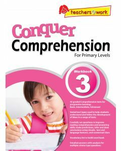 Conquer Comprehension Workbook 3