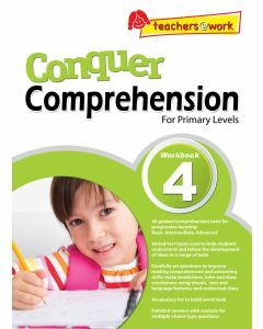 Conquer Comprehension Workbook 4