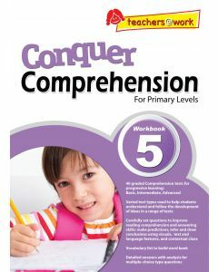 Conquer Comprehension Workbook 5