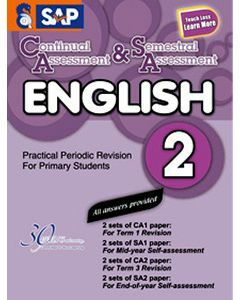 Continual Assessment & Semestral Assessment English 2