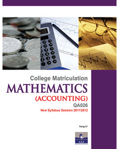 Mathematics for Accounting Semester 2
