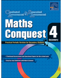 Maths Conquest Secondary 4