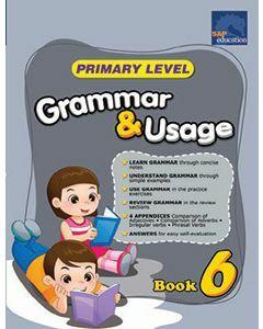 Primary Level Grammar & Usage Book 6