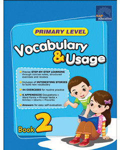 Primary Level Vocabulary and Usage Book 2