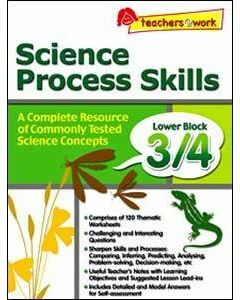 Science Process Skills Lower Block 3/4