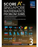 Score A in Singapore Maths Problem Sums Level 3