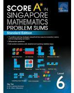Score A in Singapore Maths Problem Sums Level 6 (Standard)